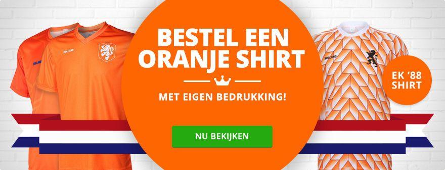 Koningsdag shirt 2017
