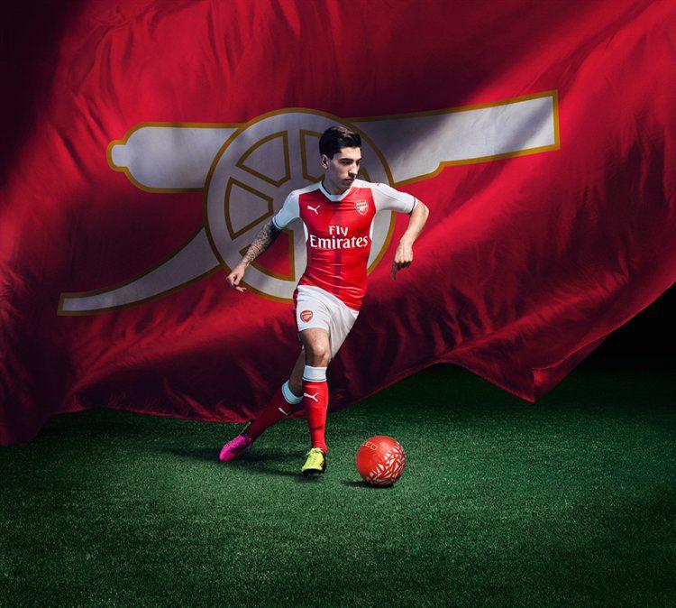 Arsenal nieuw shirt seizoen 2016-2017