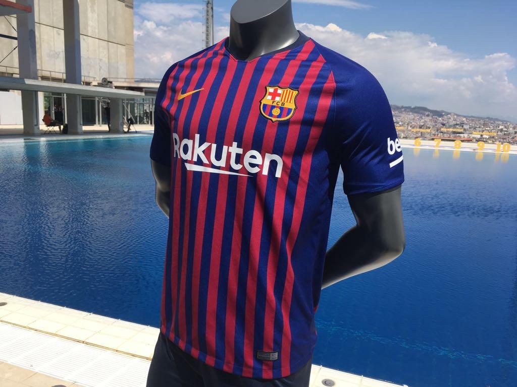 Barcelona thuisshirt 2018-2019 nieuw