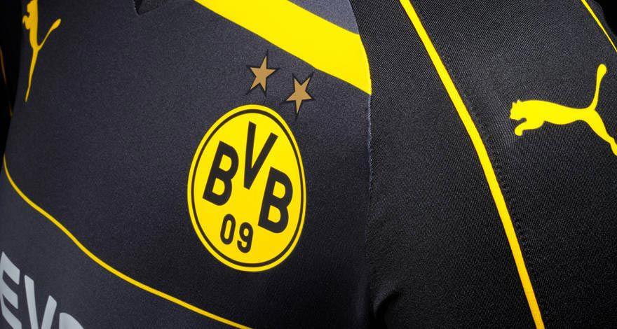 Borussia Dortmund nieuw uitshirt details 2016-2017