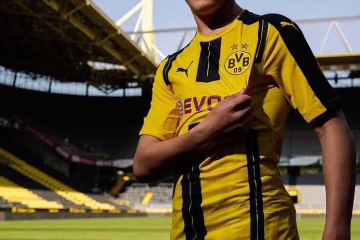 Borussia Dortmund thuisshirt seizoen 2016-2017