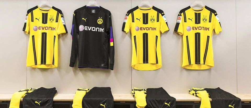 Borussia Dortmund thuisshirt voor 2016-2017