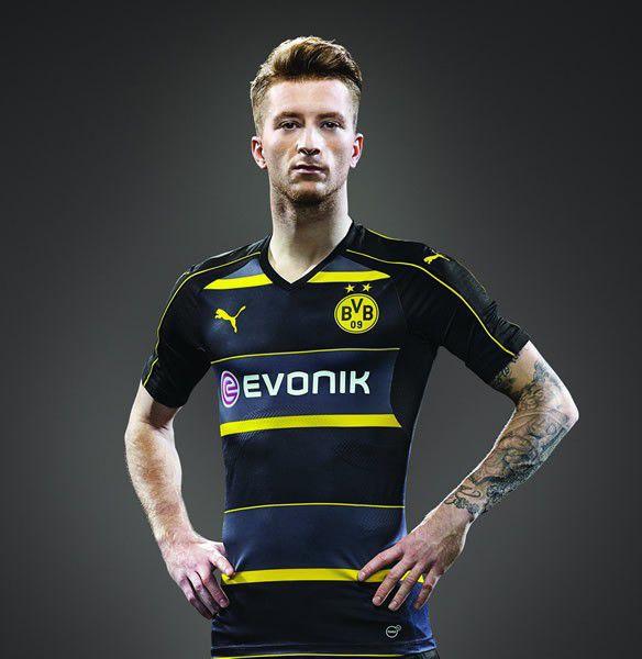 Borussia Dortmund nieuw uitshirt voor 2016-2017
