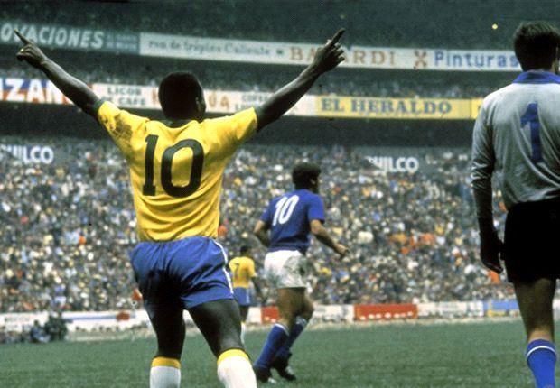 Brazilie pele voetbalshirt