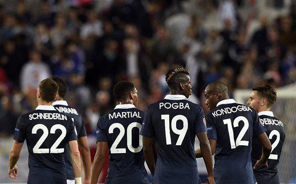 Franse wondergeneratie met Pogba, Varane, Martial