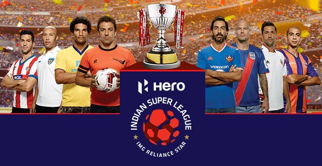 Topvoetballers in de Indian Super League