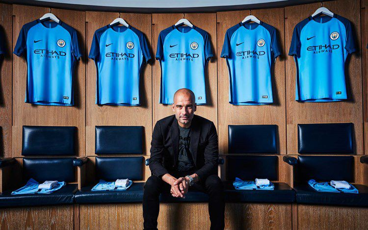 Manchester City shirt voor 2016-2017