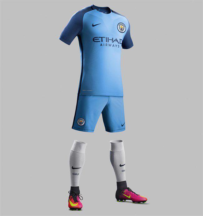 Manchester City shirt voor seizoen 2016-2017