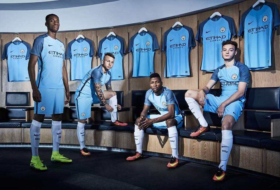 Manchester City shirt 2016-2017