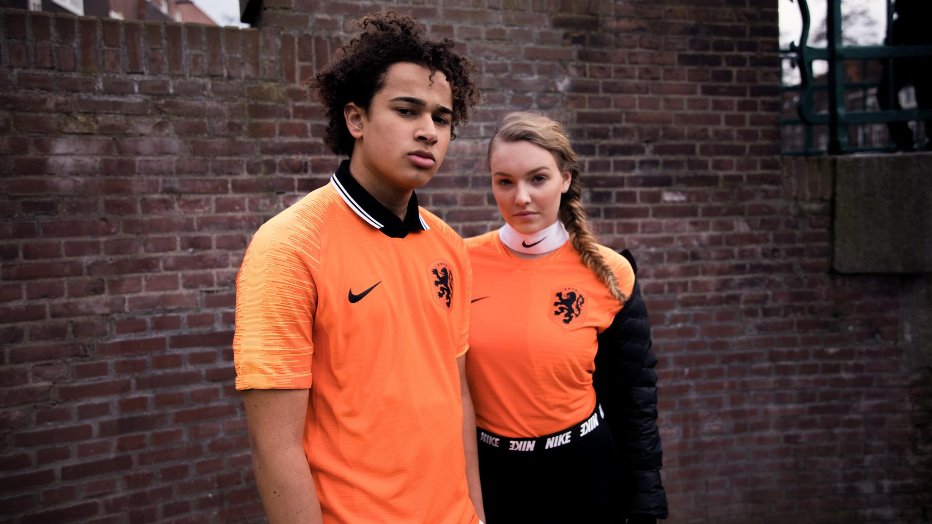 Nederlands Elftal shirt Frenkie de Jong