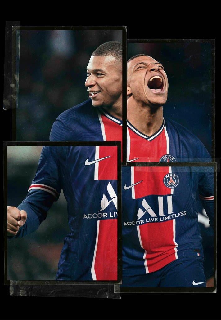 Paris Saint-Germain thuisshirt 2020-2021