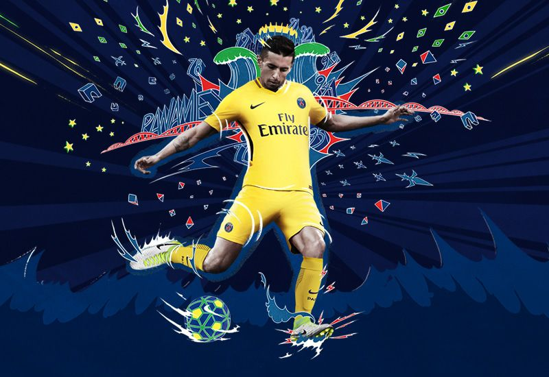 PSG uitshirt 2017-2018 nieuw