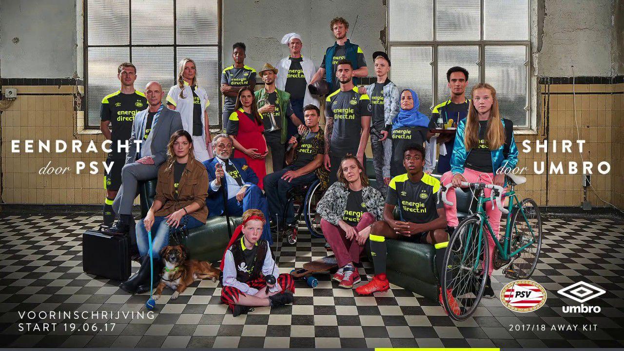 PSV uitshirt 2017-2018 nieuw