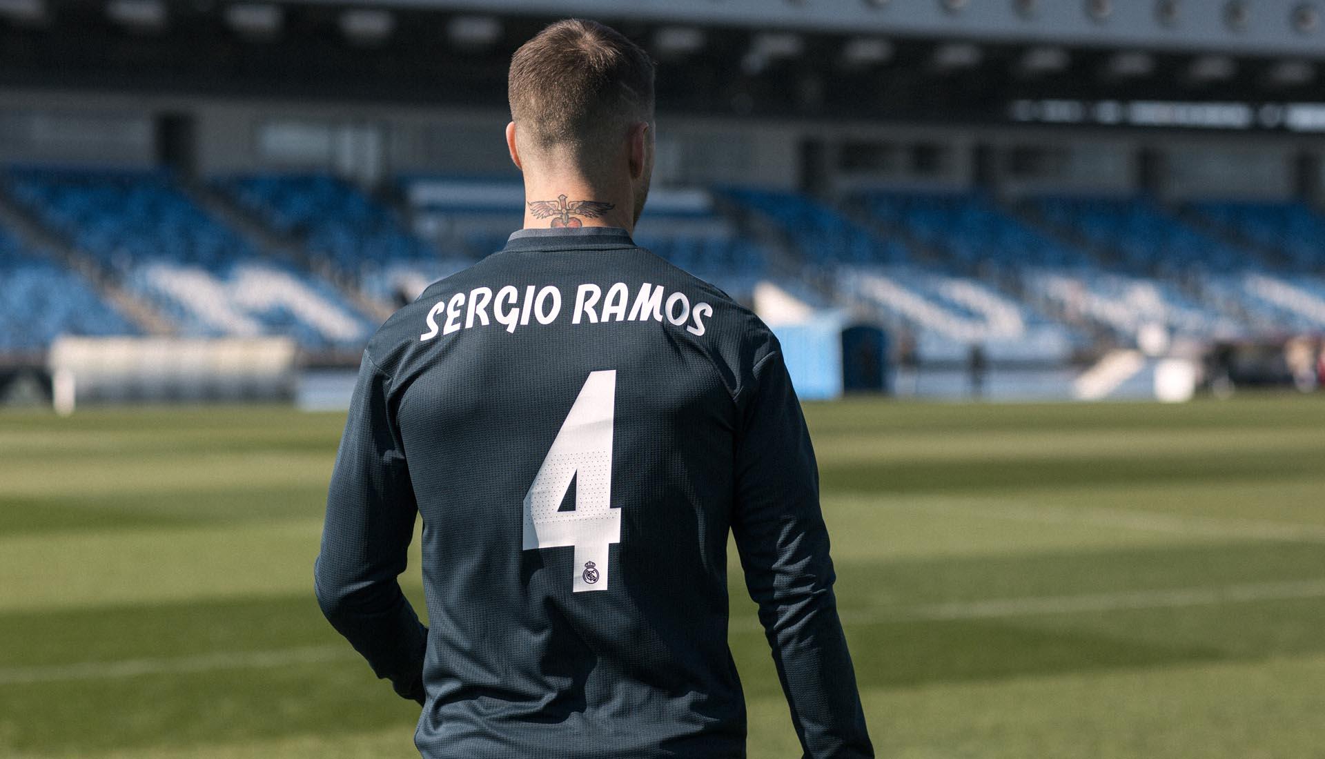 Real Madrid uitshirt 2018-2019 nieuw