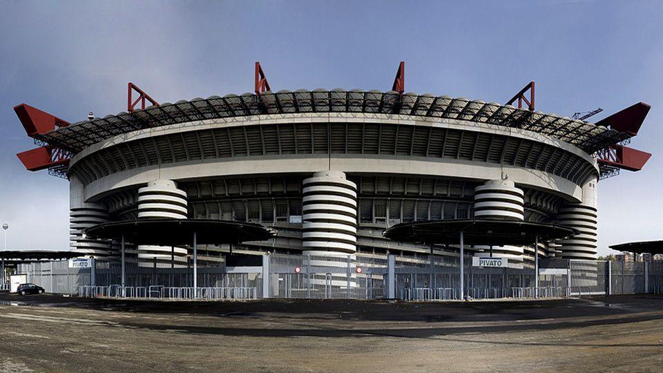 San Siro mythisch stadion Milaan