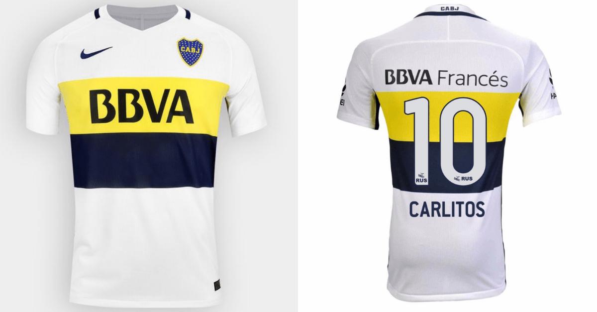 Boca Juniors uitshirt 2016-2017