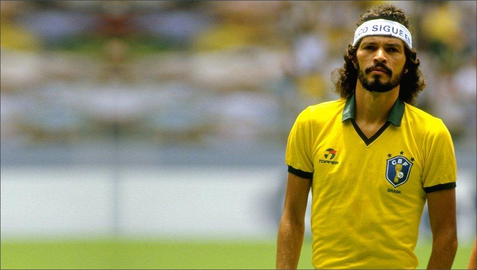 Brazilië thuisshirt WK 1986