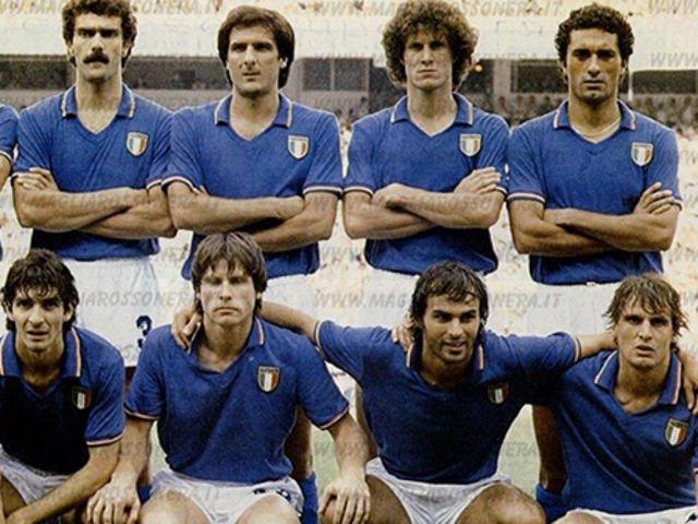Italië thuisshirt 1982