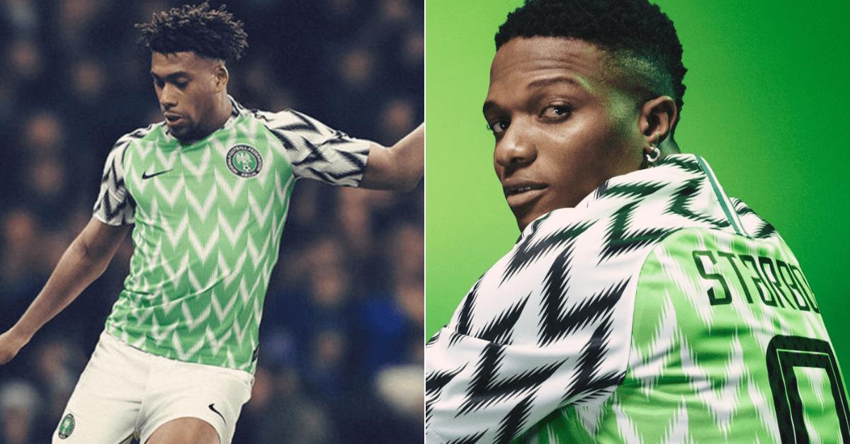 Mooie voetbalshirts: Nigeria voetbalshirt WK 2018