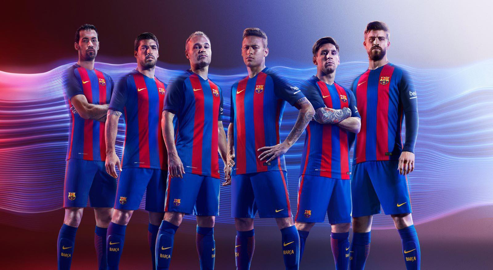 Barcelona thuistenue 2016-2017