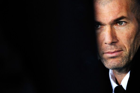 Zidane trainer Real Madrid