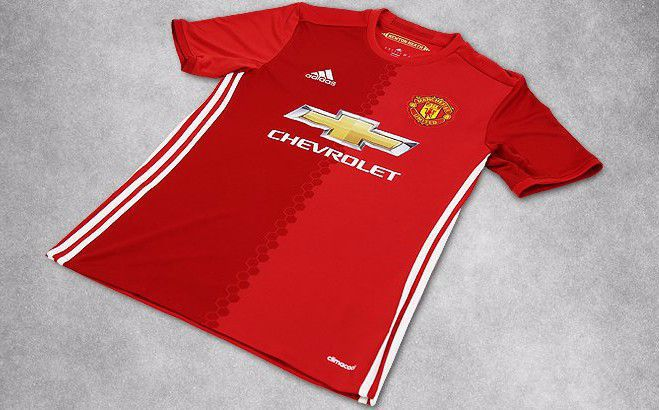 Manchester United thuisshirt 2016-2017