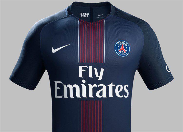 Paris Saint-Germain Thuisshirt 2016-2017