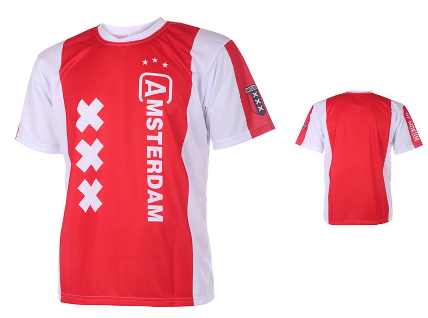Amsterdam Voetbalshirt Thuis Eigen Naam