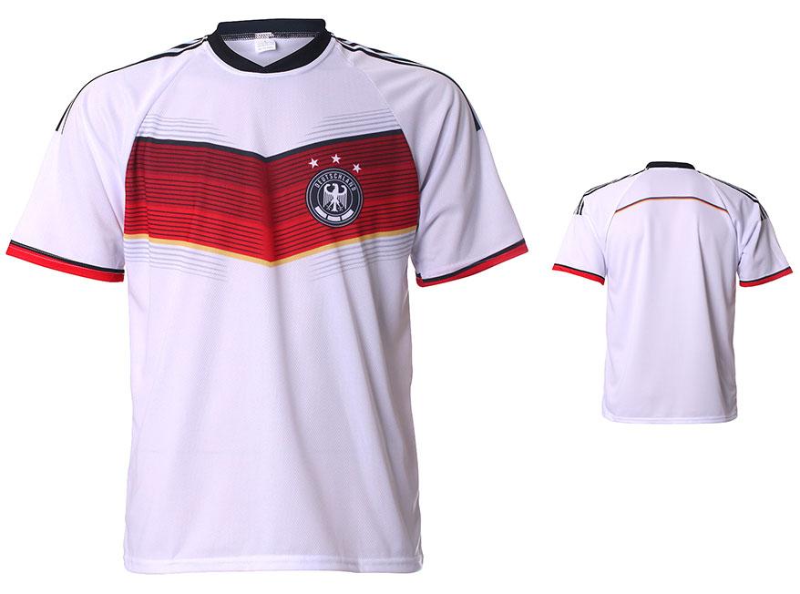Duitsland Shirt Thuis Eigen Naam 2014-2016 Maat 92-104