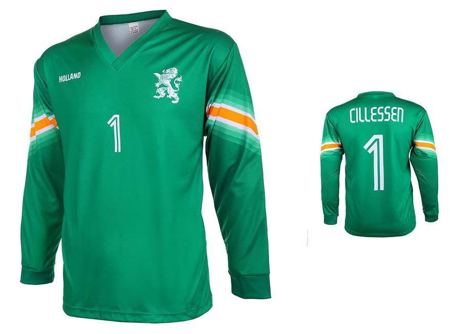 Nederlands Elftal Keepersshirt Cillessen Thuis 2014-2016 Lange Mouwen Maat 92-104 OP=OP