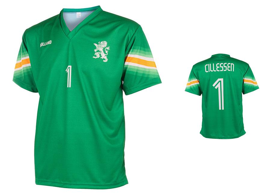 Nederlands Elftal Keepersshirt Cillessen Thuis 2014-2015 maat 92-104
