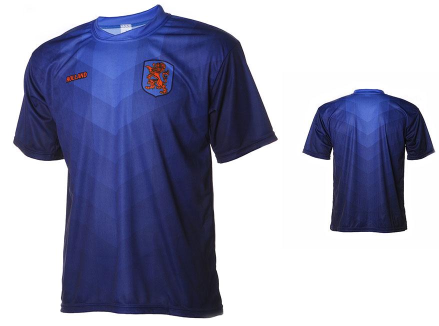Nederlands Elftal Shirt Uit Eigen Naam 2014-2016 Maat 92-104 OP=OP
