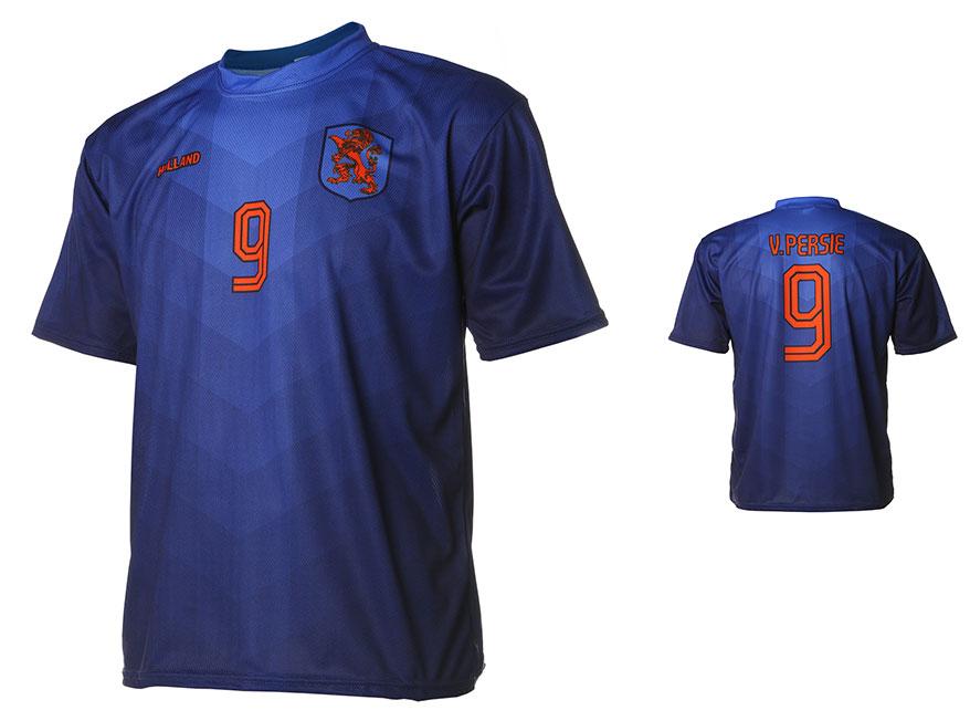 Nederlands Elftal Shirt Van Persie Uit 2014-2016 Maat 92-104-XXXL OP=OP