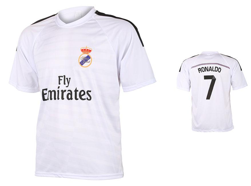 Madrid Voetbalshirt Ronaldo Thuis 2014-2015